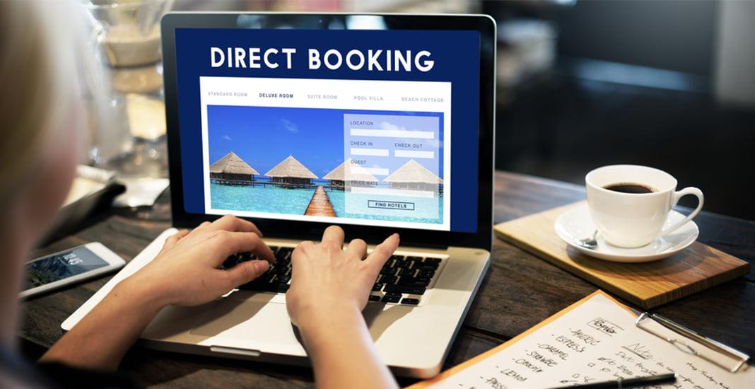 Організація продажів через власний веб-сайт готелю